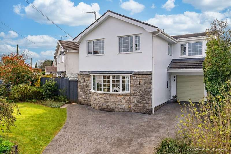 4 Bedrooms Detached House for sale in Parc Newydd, Treoes, Vale of Glamorgan, CF35 5DL