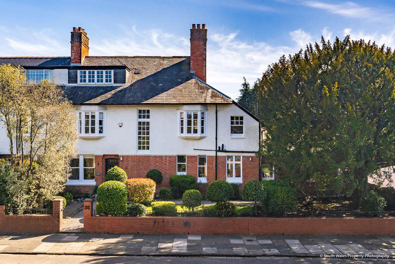 6 Bedrooms Semi Detached House for sale in St Margaret's, 22 Victoria Road, Penarth, Vale of Glamorgan, CF64 3HX