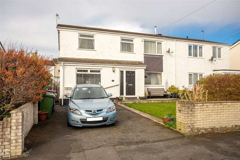 4 Bedrooms Semi Detached House for sale in Stad Ty Croes, Llanfairpwll, Anglesey, LL61