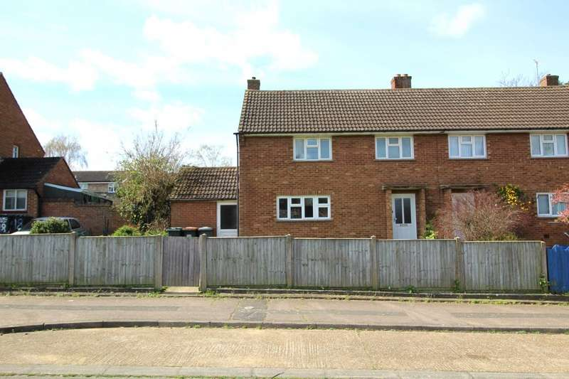 3 Bedrooms Semi Detached House for sale in Galloway Close, Kempston, Bedford, Bedfordshire, MK42