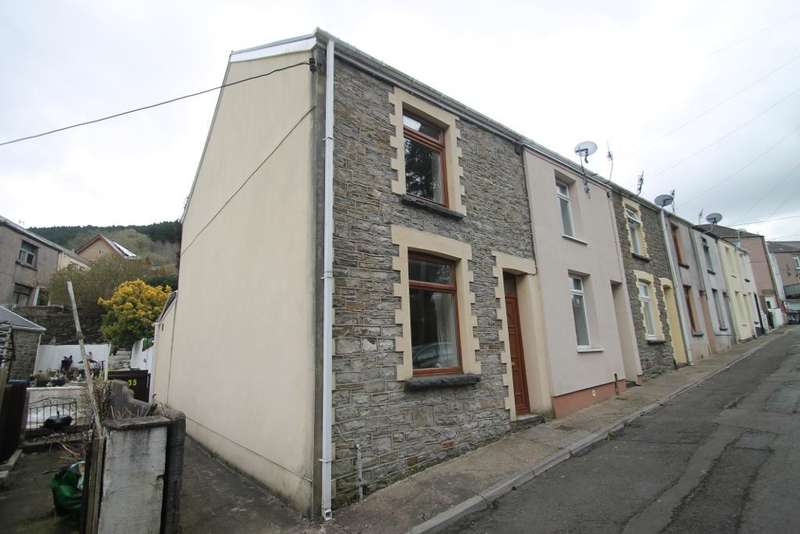 2 Bedrooms End Of Terrace House for sale in Rhiw Parc Road, Abertillery, Blaenau Gwent, NP13 1EW