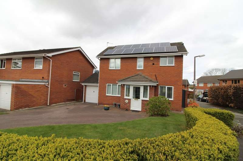 3 Bedrooms Detached House for sale in Francis Road, Frodsham, Cheshire, WA6