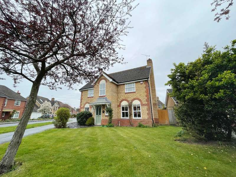 4 Bedrooms Detached House for sale in Rogers Way, Chase Meadow, Warwick