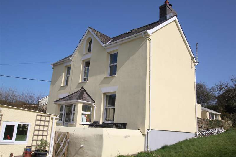 5 Bedrooms Detached House for sale in Llanarth, Near New Quay, Ceredigion