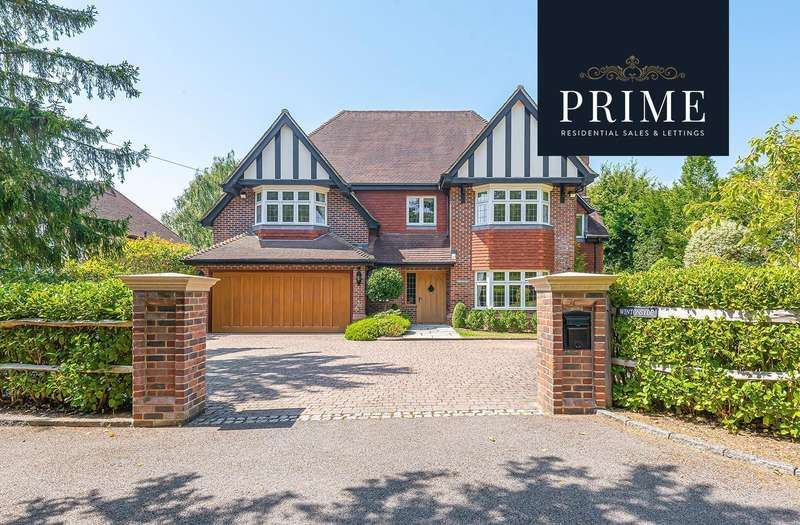 5 Bedrooms Detached House for sale in Forest Road, East Horsley, KT24