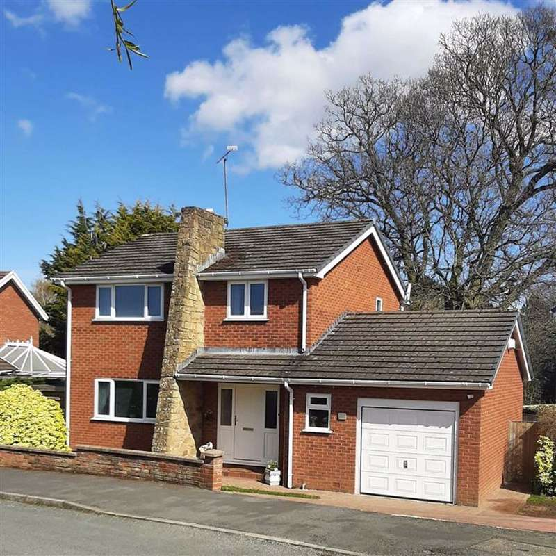 3 Bedrooms Detached House for sale in Greenside, Mold, Flintshire