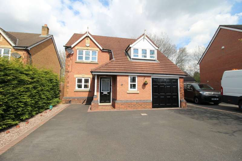 4 Bedrooms Detached House for sale in High Meadow, Walton-le-Dale, Preston, PR5