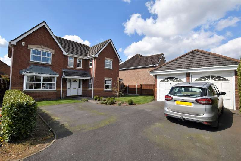 4 Bedrooms Detached House for sale in Wootton Close, East Leake, Loughborough