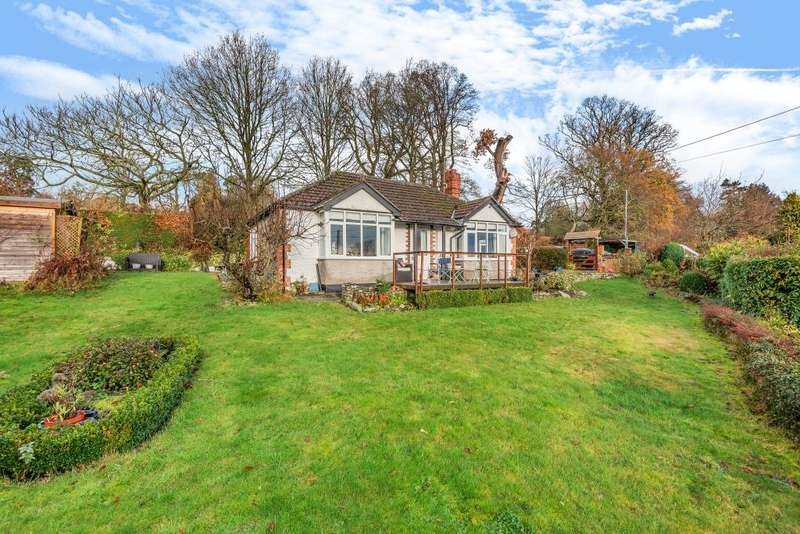 3 Bedrooms Detached Bungalow for sale in Hergest Road Kington, Herefordshire, HR5