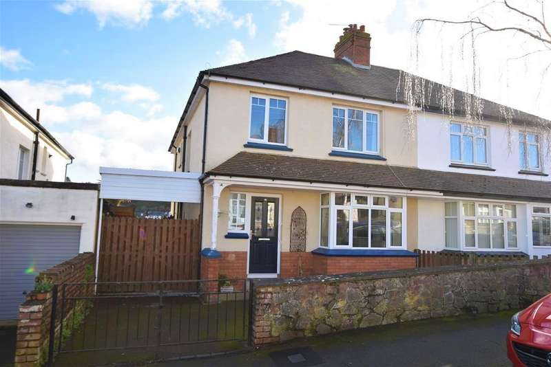 4 Bedrooms Property for sale in Poundfield Road, Minehead, TA24 5ES