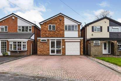 3 Bedrooms Detached House for sale in Lodge Close, Walsall