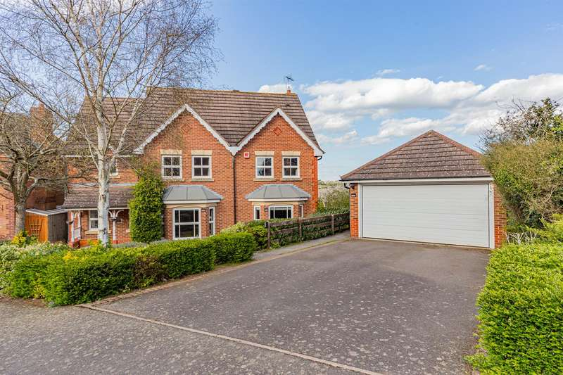 4 Bedrooms Detached House for sale in Devenports Hill, Bushby, Leicester