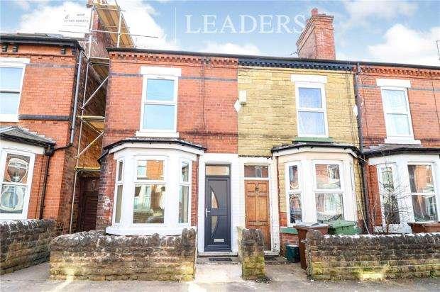 4 Bedrooms End Of Terrace House for sale in Crossman Street, Sherwood, Nottingham