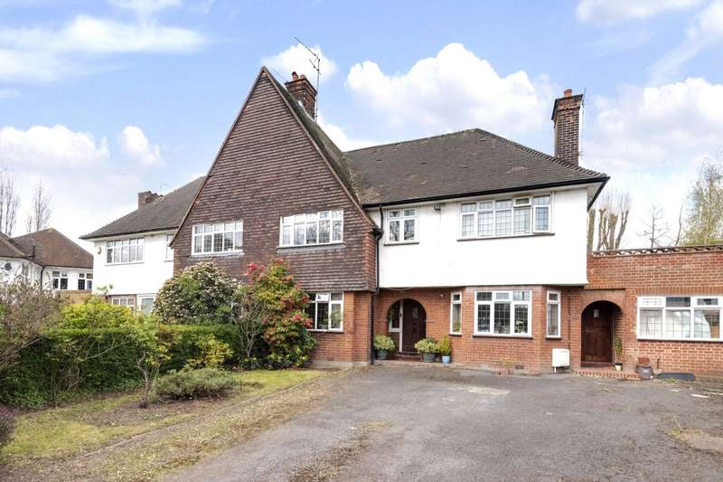 4 Bedrooms Semi Detached House for sale in Harman Drive, The Hocrofts, London, NW2
