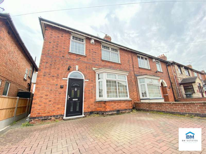 3 Bedrooms Semi Detached House for sale in Norwood Road, Leicester, LE5