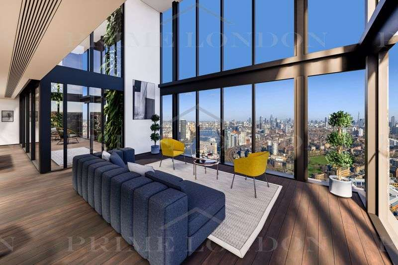 4 Bedrooms Property for sale in Damac Tower, Nine Elms, London