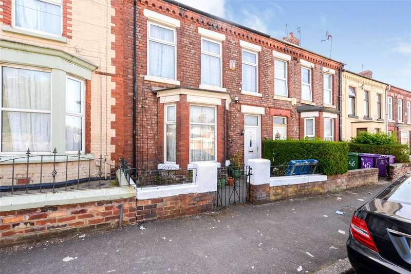 4 Bedrooms Terraced House for sale in Russian Drive, Liverpool, L13