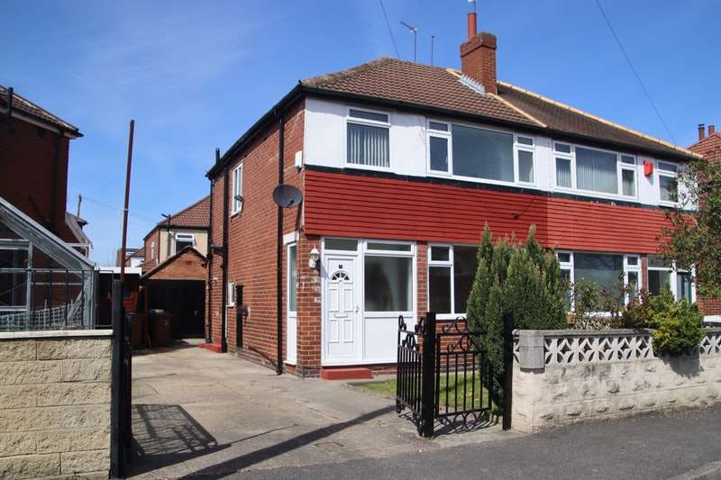3 Bedrooms Semi Detached House for sale in Foxwood Close, Leeds, West Yorkshire, LS8