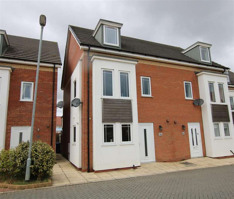 4 Bedrooms Semi Detached House for sale in Wesley Road, Cherry Willingham, Lincoln