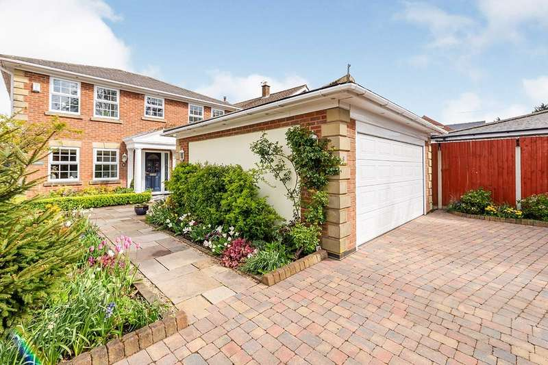 4 Bedrooms Detached House for sale in Sketchley Lane, Burbage, Hinckley, Leicestershire, LE10
