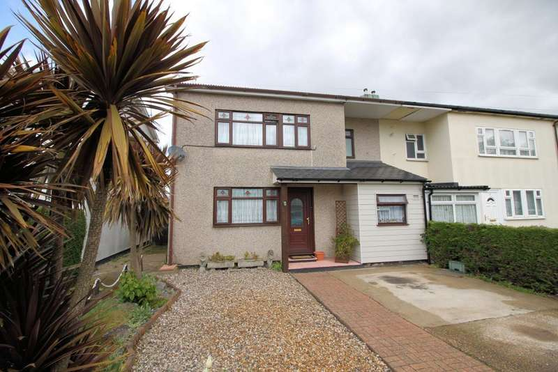 3 Bedrooms Semi Detached House for sale in Hornby Avenue, Westcliff on Sea, Essex, SS0 0LE