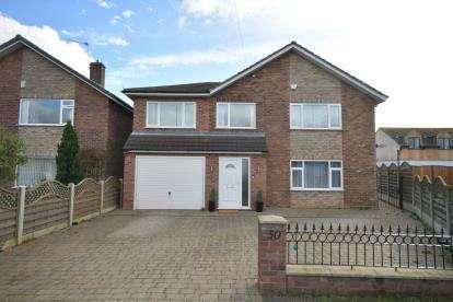 4 Bedrooms Detached House for sale in Jensen Road, Bracebridge Heath, Lincoln, Lincolnshire