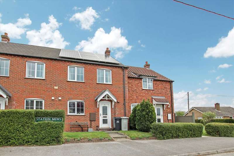 3 Bedrooms Terraced House for sale in Station Mews, Wragby, Wragby