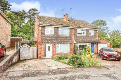 3 Bedrooms Semi Detached House for sale in Dunholme Avenue, Loughborough, Leicestershire