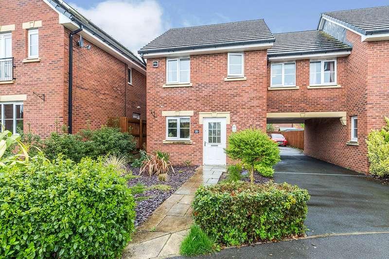 3 Bedrooms Semi Detached House for sale in Brookwood Way, Buckshaw Village, Chorley, Lancashire, PR7