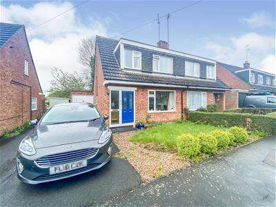 3 Bedrooms Semi Detached House for sale in The Leys, Kibworth Beauchamp, Leicester