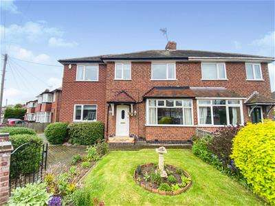 4 Bedrooms Semi Detached House for sale in Bembridge Road, Off Groby Road, Leicester