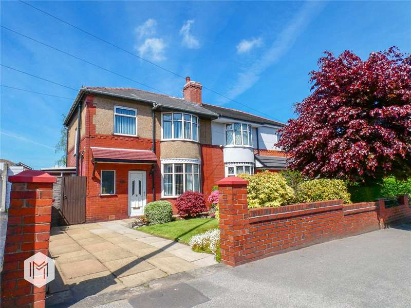 3 Bedrooms Semi Detached House for sale in Hulton Lane, Bolton, BL3