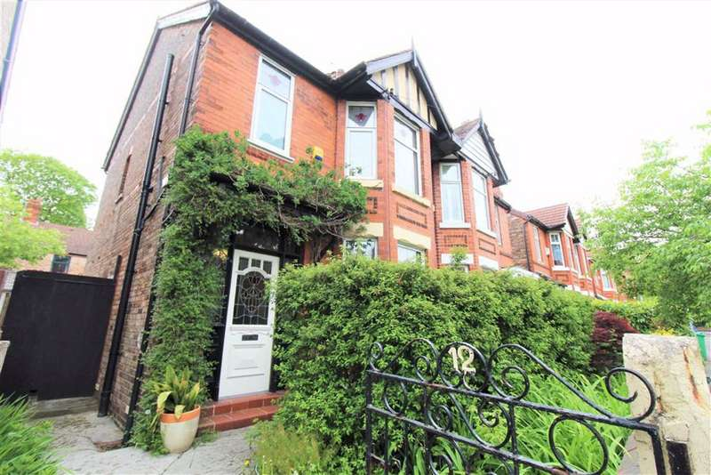 3 Bedrooms Semi Detached House for sale in Fairview Avenue, Manchester