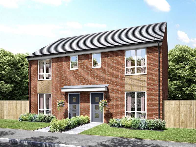 3 Bedrooms Semi Detached House for sale in Plot 46 Cornbrook At Osprey Place, Stainton Drive, Middleton, Manchester, M24