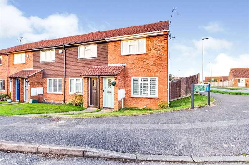 2 Bedrooms End Of Terrace House for sale in Warley Rise, Tilehurst, Reading, RG31