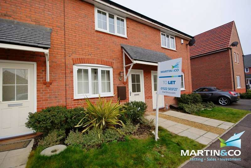 2 Bedrooms Property for rent in Tacitus Way, North Hykeham, Lincoln LN6