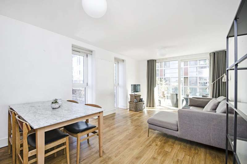 2 Bedrooms Flat for rent in Dalston Square, Dalston, E8
