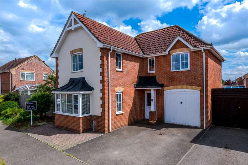 4 Bedrooms Detached House for sale in Redwood Avenue, Sleaford, NG34