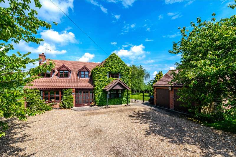 4 Bedrooms Detached House for sale in Walcot Fen, Billinghay, Lincoln, LN4