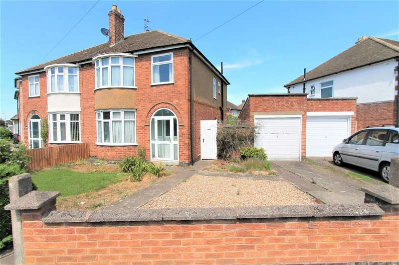 3 Bedrooms Semi Detached House for sale in South Kingsmead Road, Knighton, Leicester LE2