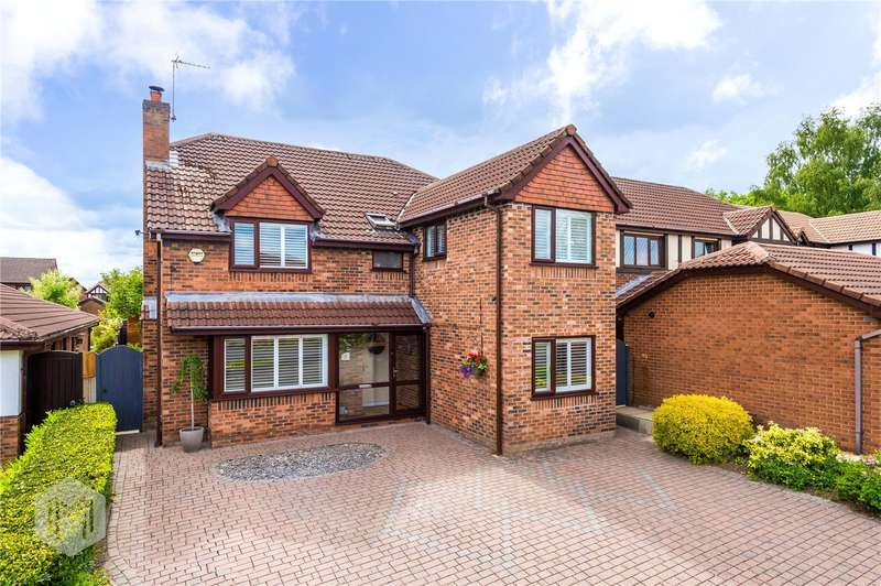 5 Bedrooms Detached House for sale in Eden Vale, Worsley, Manchester, M28