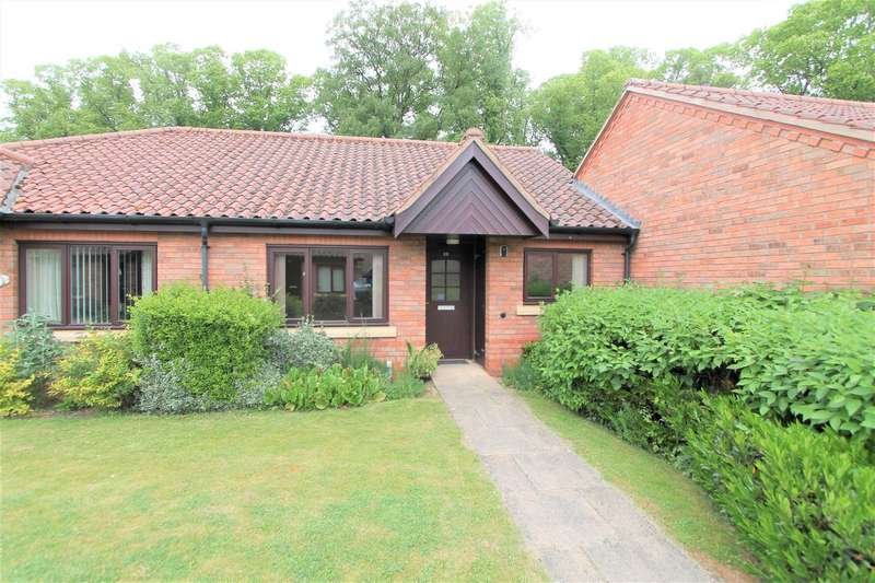 2 Bedrooms Semi Detached Bungalow for sale in Honeywell Close, Oadby, Leicester LE2