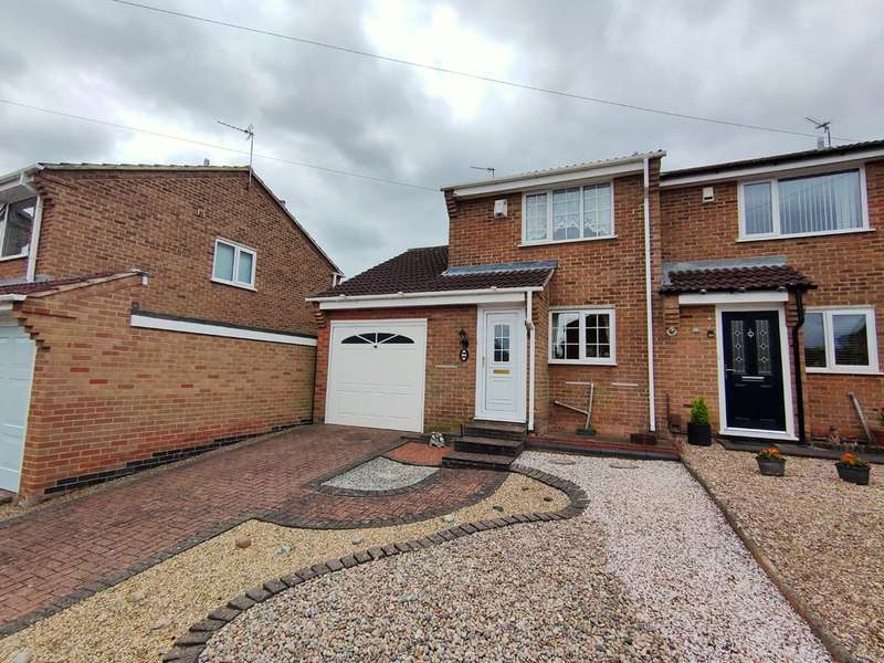 2 Bedrooms Semi Detached House for sale in Osborne Road, Loughborough