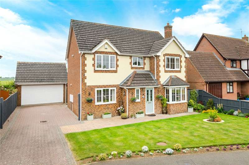4 Bedrooms Detached House for sale in Lambourne Way, Heckington, Sleaford, NG34