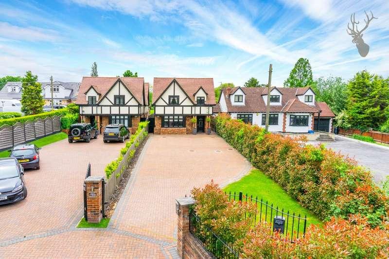 4 Bedrooms House for sale in Oak Hill Road, Stapleford Abbotts, Romford