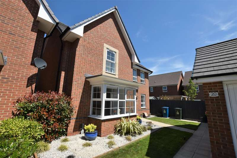 4 Bedrooms Detached House for sale in Sand Martin Close, East Leake, Loughborough