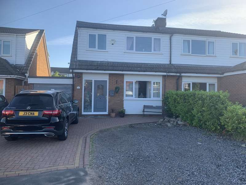 3 Bedrooms Semi Detached House for sale in Bispham Close, Bury, Greater Manchester, BL8