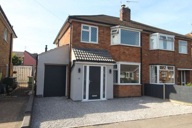3 Bedrooms Semi Detached House for sale in West Street, Blaby, Leicester, LE8
