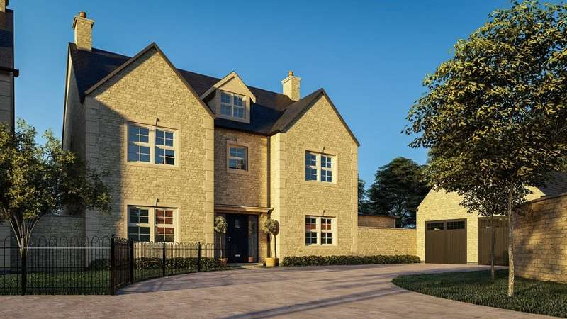 5 Bedrooms Detached House for sale in Windlass Court, Top Lock Meadows, Stamford