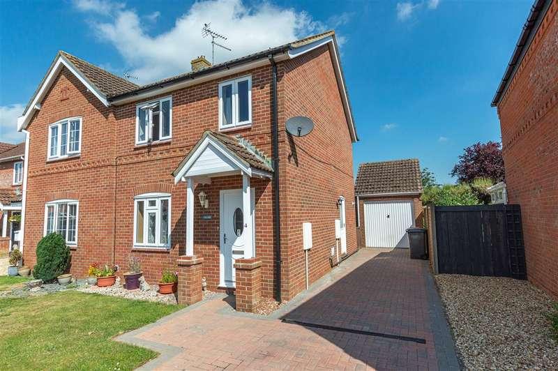 Semi Detached House for sale in Oatfield Way, Heckington